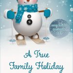 A True Family Holiday cover